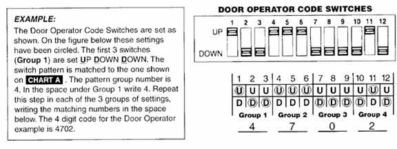 genie_wireless_keypad_entry_system2 blue max compatible garage door opener parts programming liftmaster garage door opener wiring schematic at crackthecode.co
